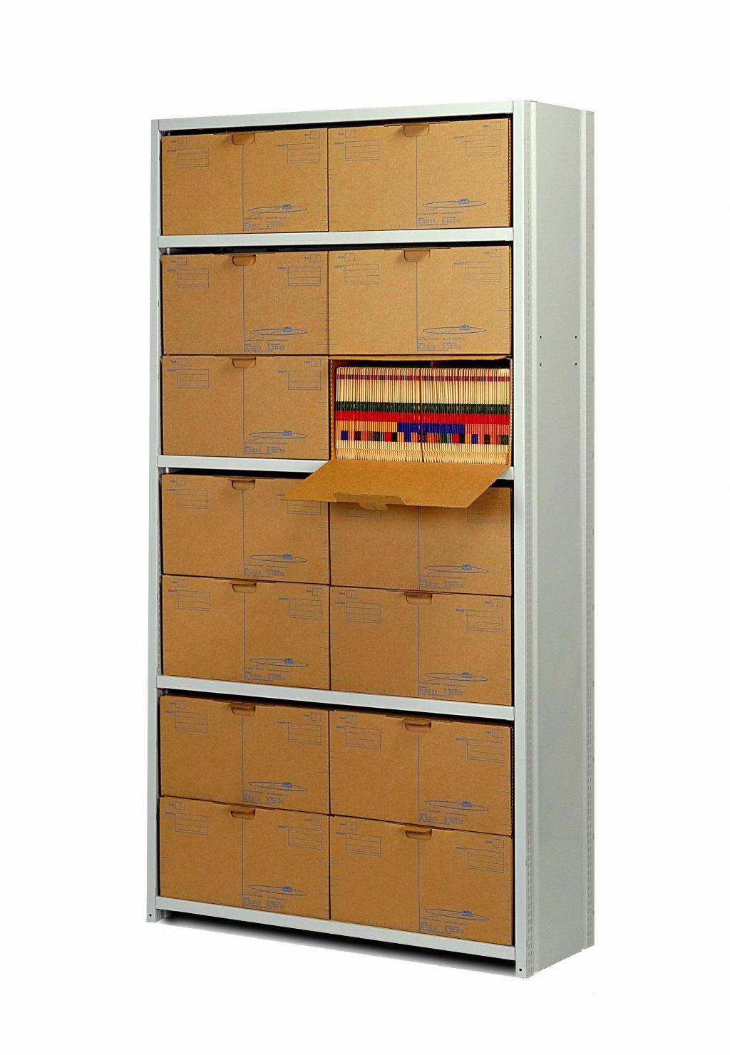 Ariës archiefrek met Archive-Boxen