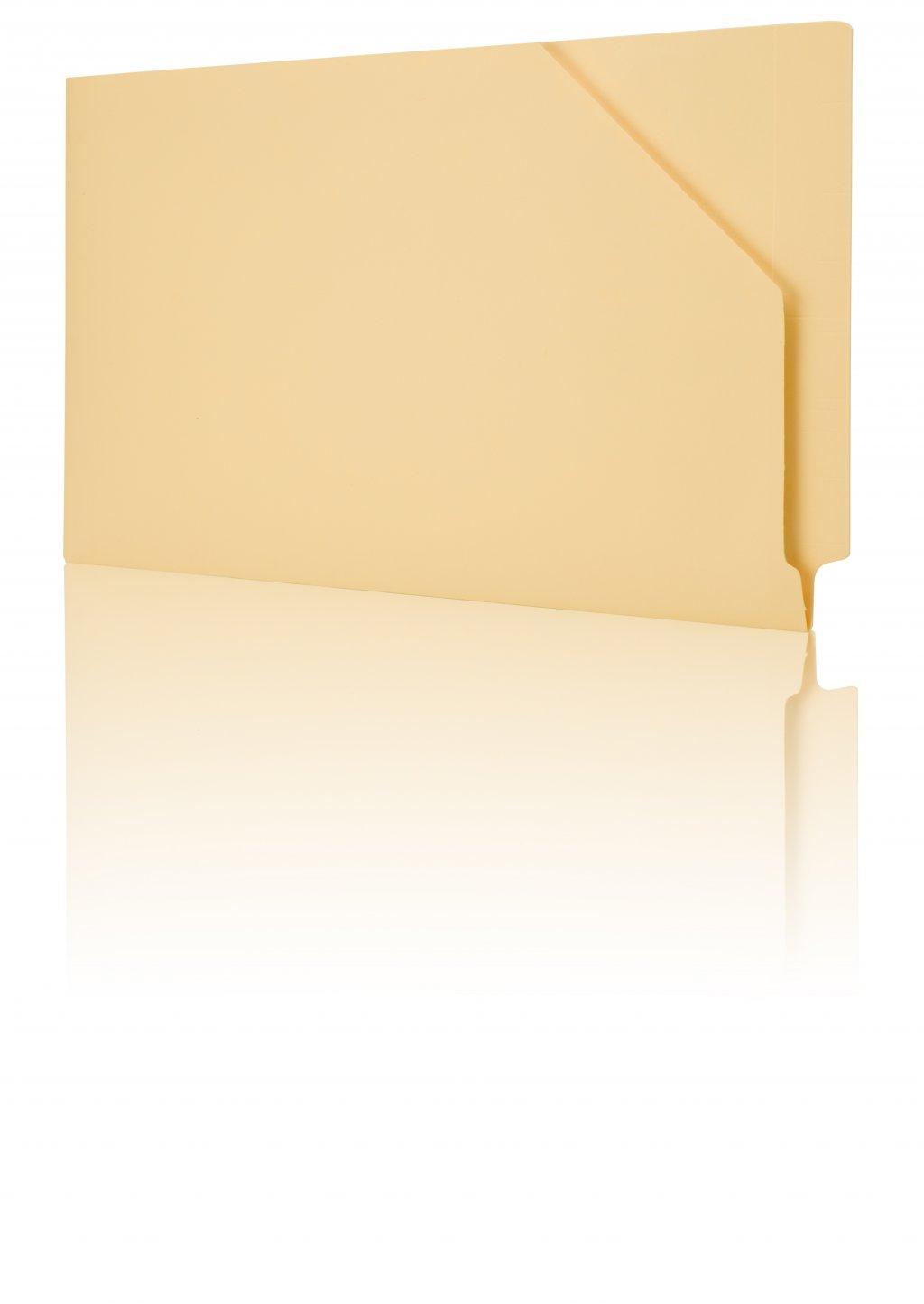 Orga-File dossiermap, achteraan gesloten