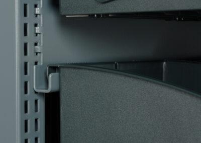 Orga-Rack rail voor ophanging Orga-Boxen