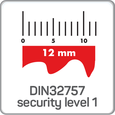 DIN32757 Security Level 1