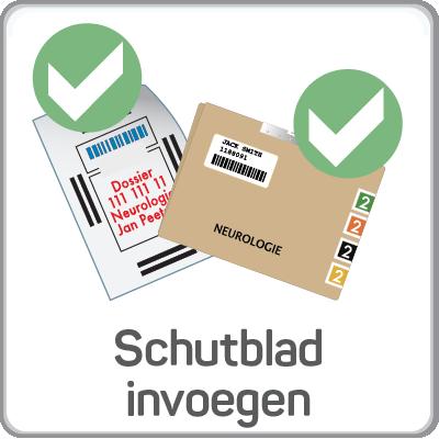 Schutblad invoegen