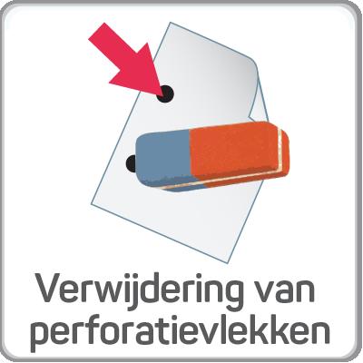 Verwijdering van perforatievlekken