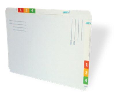 Acti-File dossiermap, ideaal voor tijdelijke dossiers