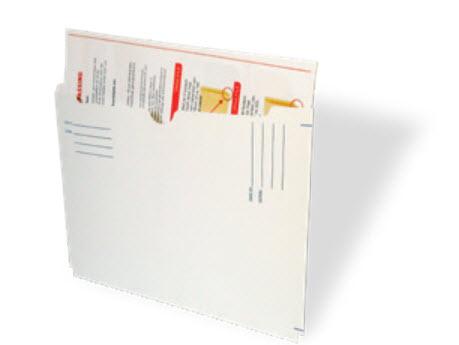 Acti-File dossiermap, 3 zijden gesloten