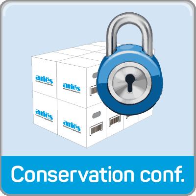 conservation confidentielle