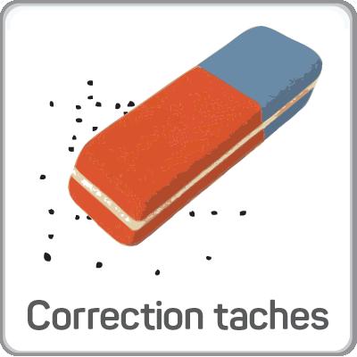 correction taches