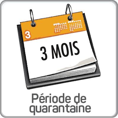 periode quarantaine