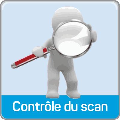 controle du scan