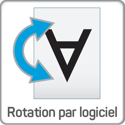 rotation par logiciel