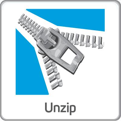 unzip