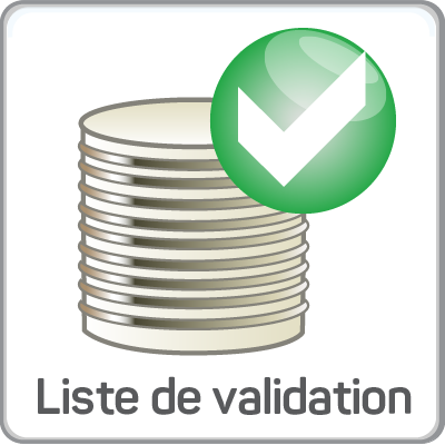 liste de validation