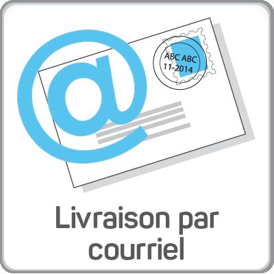 livraison par courriel
