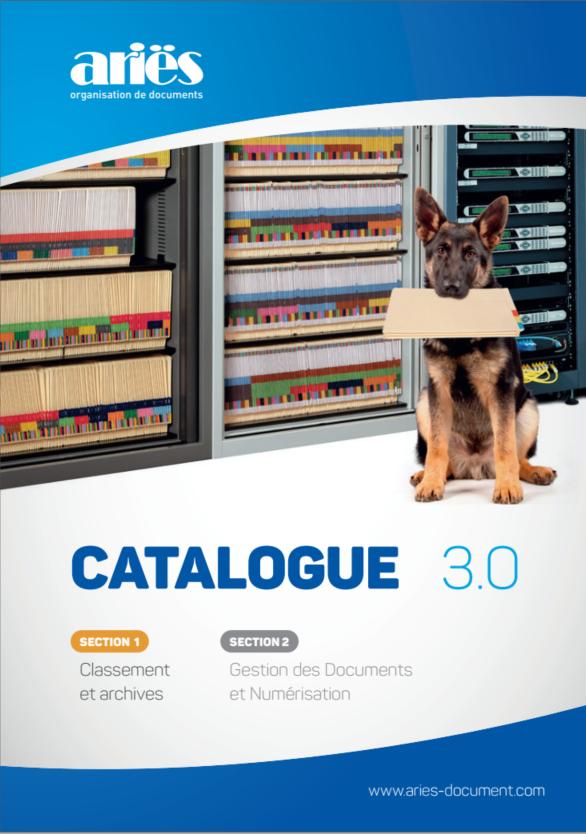 catalogue Ariës section classement et archives
